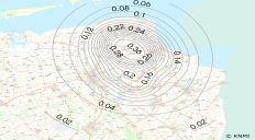contourenkaart_grondversnelling_groningen_knmi2015