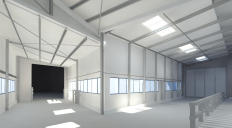 Hal-model-lichtinval-in-Revit-