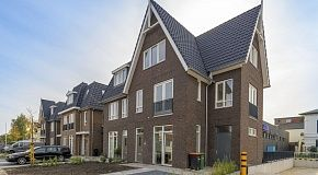 Sustainable living in six spacious townhouses in Baarn with Aldi supermarket